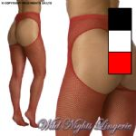 Brand New Fishnet G -String Tights